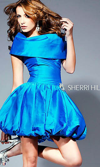 shiort prom and evening frocks