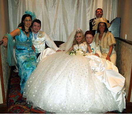 gipsy wedding dress. MY BIG FAT GYPSY WEDDING (in