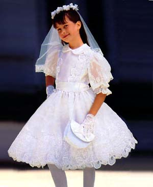 Petti Pictures First Communion Nostalgia